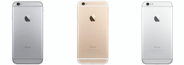 iPhone-6-generationen