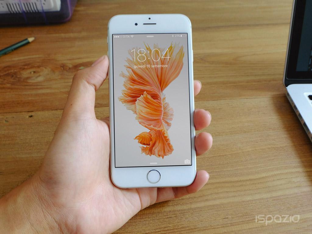 Обои iphone 6s рыбка