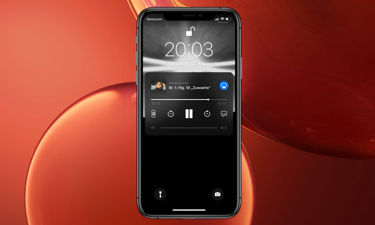ios 12 2 iphone zeigt neu apple tv wiedergabe auf dem. Black Bedroom Furniture Sets. Home Design Ideas